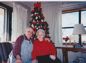 Grandpa and Grandma Luther