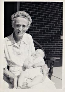 Deeji with Lydia 1954