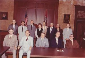 Men's Theater Bible Class - Officers 1981