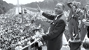 Dr. Martin Luther King Jr. March on Washington 1963