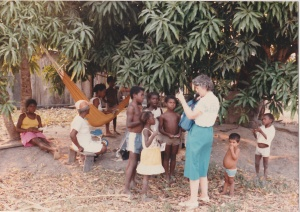 Cathy sharing The Way with Children