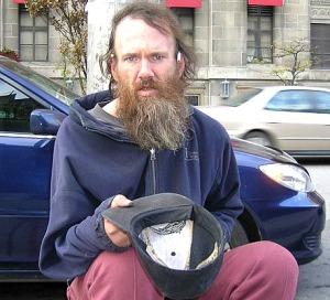 A Panhandler