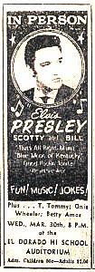 Elvis Concert Ticket