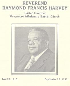 Dr. Raymond Francis Harvey