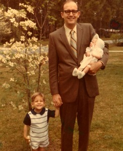 John Aaron, Proud Dad, Mary Kay Easter 1970