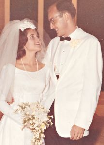 Bride and Groom: Aug. 7,1965