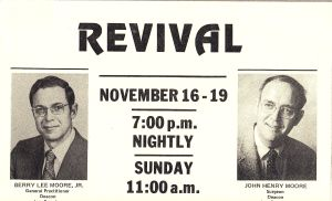 Prairie Grove Revival Poster